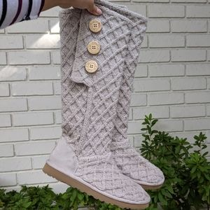 UGG Cardy Classic Knit Boots